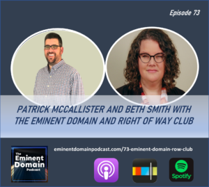 eminent domain right of way club founders